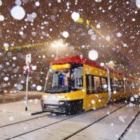 В Варшаве общественный транспорт бьет рекорды по количеству пассажиров