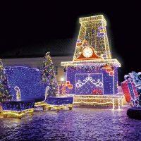 В Варшаве отключат праздничную иллюминацию