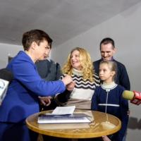Польской семье изЛуганска власти предоставили квартиру вВаршаве