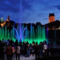 ВВаршаве намайские Парк фонтанов откроется мультимедийным шоу