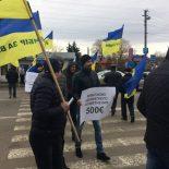 Протест наукраинско-польской границе. Митингующие требовали адекватной растаможки авто