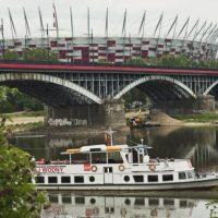 Идея на летний уик-энд в Варшаве: прогулка на катере по Висле