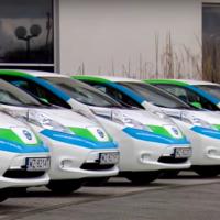 На улицах Варшавы появятся электрические такси