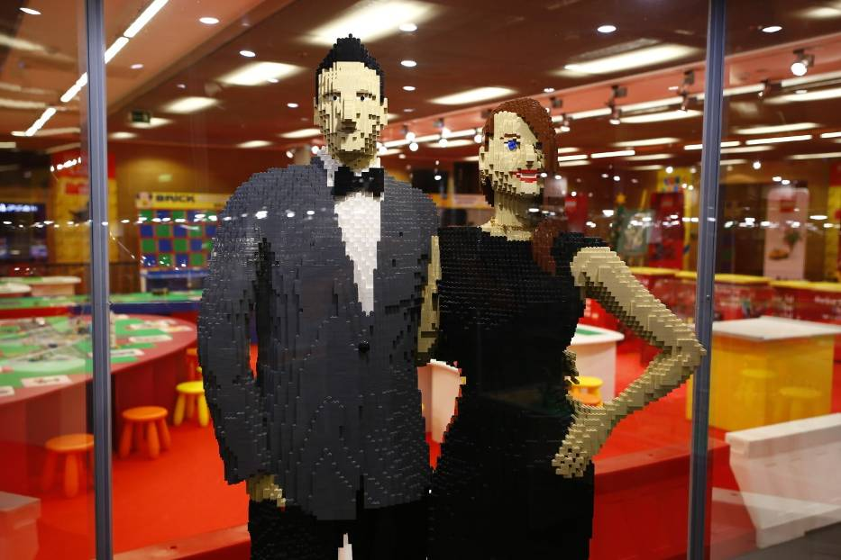 В Варшаве открылась грандиозная выставка Lego